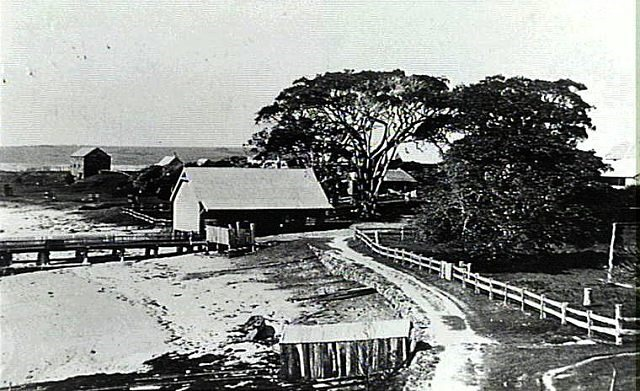 Boat Store and Jetty Shellharbour 1900