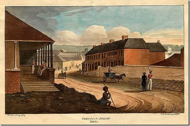 800px-Augustus_Earle_-_View_from_the_Sydney_HotelEarle,_Augustus._Views_in_Australia._Sydney-_Earle's_Lithography,_1826._-_Google_Art_Project