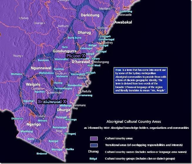 Aboriginal Cultural Country Areas 1