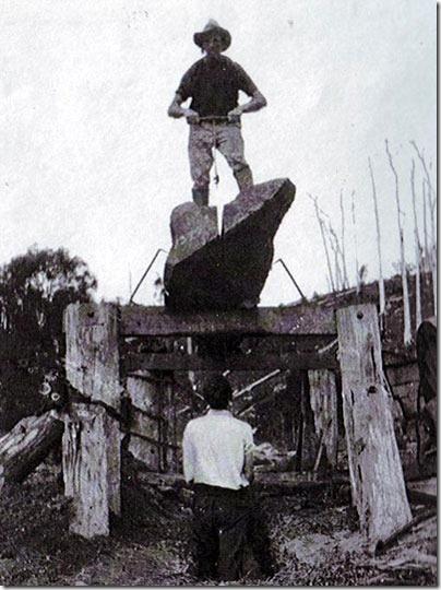 Pit-sawing