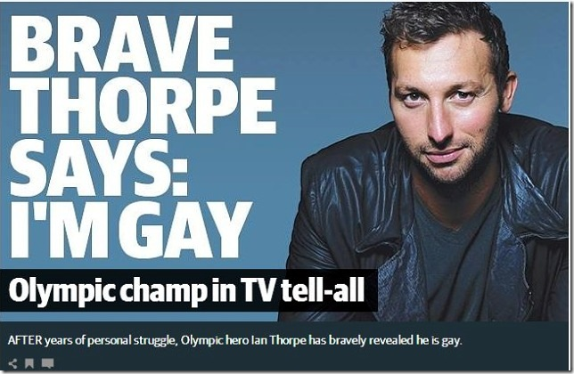 Ian Thorpe, Gayby Baby, and today in my life | Neil's ...