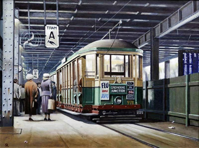 Wynyard-Station-tram
