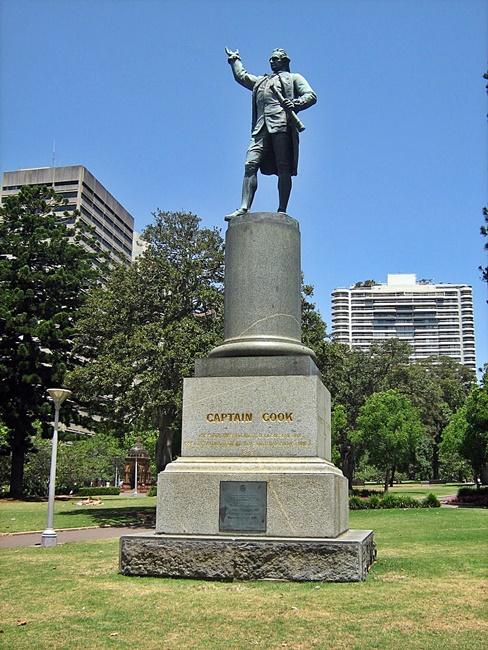 Hyde Park Captain Cook