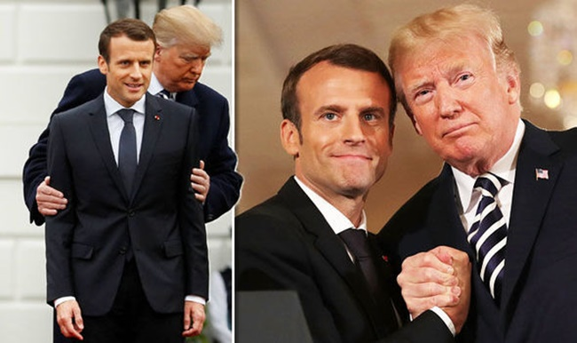 Donald-Trump-and-Emmanuel-Macron-950980