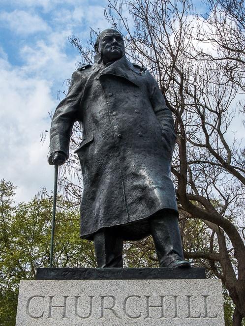 Winston Churchill, Parliament Square, London