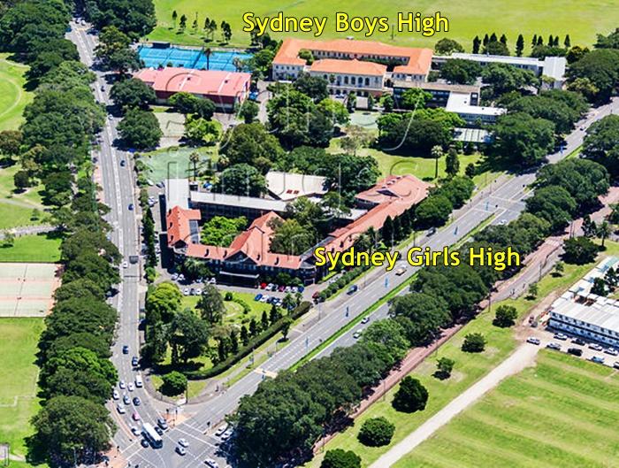 Sydney High Schools, Moore Park