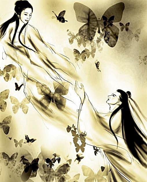 Shanbo Liang & Yingtai Zhu becoming butterflies